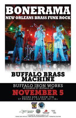 Bonerama w. The Buffalo Brass Machine @ Buffalo Iron Works | Buffalo | NY | United States