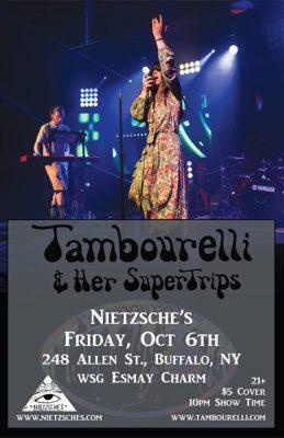 Tambourelli & Her SuperTrips at Nietzsche's @ Nietzsche's   Buffalo   NY   United States
