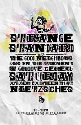 Strange Standard Album Release w/ Kids in the Basment @ Nietzsche's | Buffalo | NY | United States