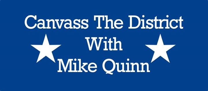 Canvass the District with Mike Quinn @ Collins & Collins Attorneys | Hamburg | NY | United States
