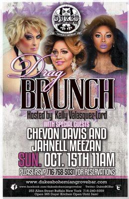 Drag Brunch 2 at DBGB October 15th @ Duke's Bohemian Grove Bar   Buffalo   NY   United States