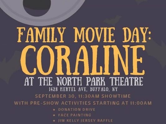 Family Movie Day for Charity @ North Park Theatre | Buffalo | NY | United States