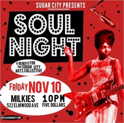 Sugar City Presents: SOUL NIGHT @ Milkie's on Elmwood. | Buffalo | NY | United States