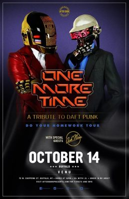 One More Time : A Tribute to Daft Punk - Oct 14 @ VENU | Buffalo | NY | United States