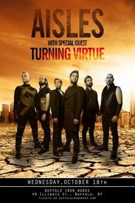 Aisles with Turning Virtue @ Buffalo Iron Works @ Buffalo Iron Works | Buffalo | NY | United States