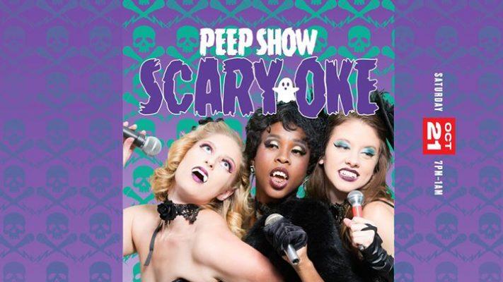 Peepshow: Scary-Oke! @ Dnipro Ukrainian Cultural Center | Buffalo | NY | United States
