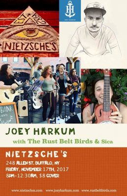 Joey Harkum w/ Rust Belt Birds at Nietzsche's (Buffalo, NY) @ Nietzsche's | Buffalo | NY | United States