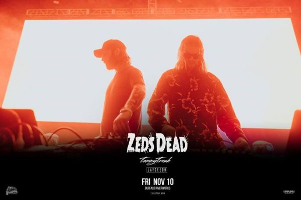 Zeds Dead at Buffalo Riverworks Nov 10 w/ Tommy Trash & Jayceeoh @ Buffalo RiverWorks | Buffalo | NY | United States