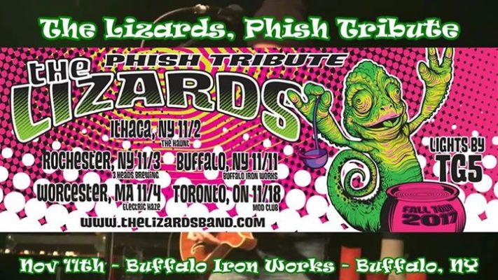 Phish Tribute, The Lizards at Buffalo Iron Works - NOV 11TH @ Buffalo Iron Works | Buffalo | NY | United States