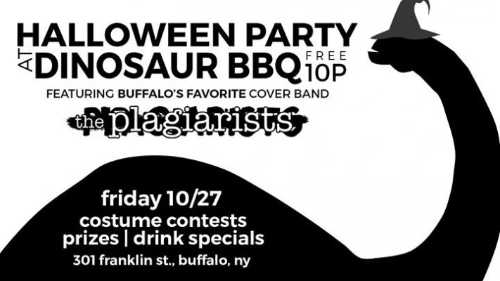 The Plagiarists Halloween Get-down LIVE at Dinosaur BBQ Buffalo @ Dinosaur BBQ - Buffalo NY | Buffalo | NY | United States