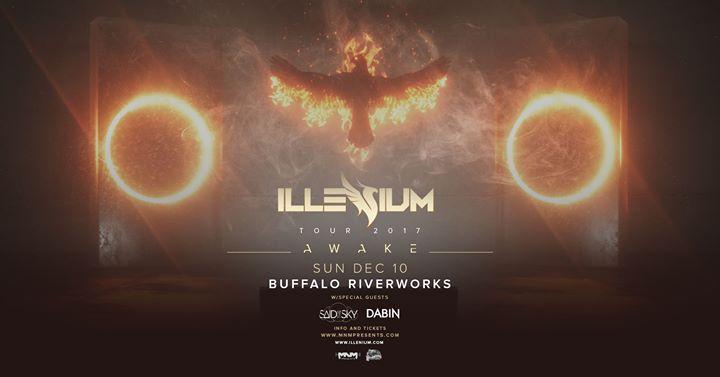 Illenium at Buffalo Riverworks 12/10 @ Buffalo RiverWorks | Buffalo | NY | United States