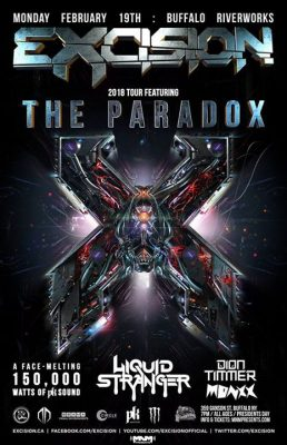 Excision: The Paradox 2018 at Buffalo Riverworks @ Buffalo RiverWorks | Buffalo | NY | United States