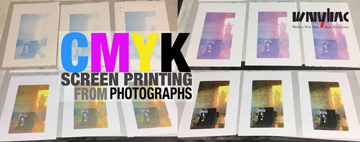 CMYK Screen Print from Photos Workshop @ Western New York Book Arts Center | Buffalo | NY | United States