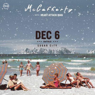 McCafferty with Heart Attack Man - Dec 6 at Sugar City @ Sugar City   Buffalo   NY   United States