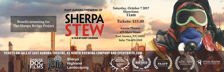 Sherpa Stew Documentary: East Aurora Premiere
