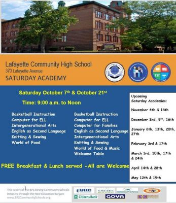 Lafayette Campus - Saturday Academy @ Lafayette High School (Buffalo, New York) | Buffalo | NY | United States