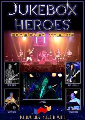 Jukebox Heroes: The Foreigner Tribute @ Riviera Theatre and Performing Arts Center | North Tonawanda | NY | United States