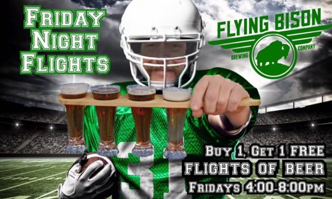 Friday Night Flights at Flying Bison @ Flying Bison Brewing Company | Buffalo | NY | United States