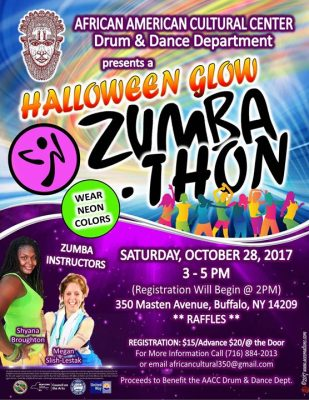 Halloween Glow Zumbathon @ African American Cultural Center | Buffalo | NY | United States