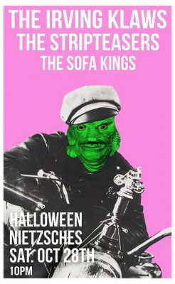 Halloween! The Irving Klaws F*cking with the 50s Stripteasers @ Nietzsche's | Buffalo | NY | United States
