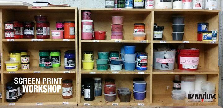 Screen Print Basics Workshop @ Western New York Book Arts Center | Buffalo | NY | United States