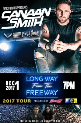 Canaan Smith LIVE at VENU - 12/1/17 @ VENU | Buffalo | NY | United States