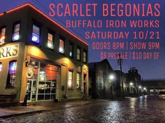 Scarlet Begonias Live! @ Buffalo Iron Works | Buffalo | NY | United States