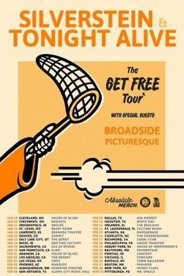 Silverstein & Tonight Alive - The Get Free Tour at Town Ballroom @ Town Ballroom | Buffalo | NY | United States