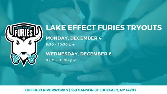 Lake Effect Furies Tryouts @ Buffalo RiverWorks   Buffalo   NY   United States