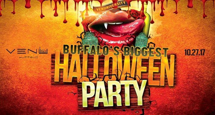 VENUniversity: Buffalo's Largest 18+ Halloween Party - 10/27 @ VENU | Buffalo | NY | United States