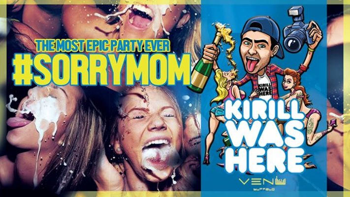 "The Most Epic Party Ever w/ ""Kirill Was Here"" -#SorryMom - VENU @ VENU 
