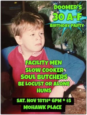 Doomer/Joe Peluso's dual birthday party! @ Mohawk Place | Buffalo | NY | United States