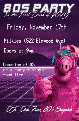 80s Party for the Food Bank of WNY @ Milkie's on Elmwood. | Buffalo | NY | United States