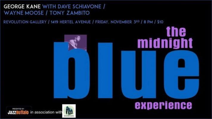 JazzBuffalo Presents The Midnight Blue Experience @ Revolution Gallery | Buffalo | NY | United States