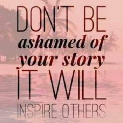 A Story to Inspire— Not Shame