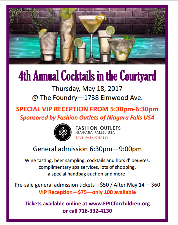 Cocktails In The Courtyard Is Thursday Wnymedia Network